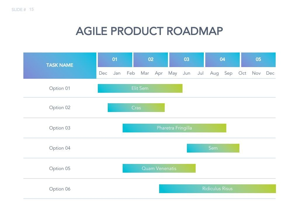 Agile Development Google Slides Theme, Slide 16, 04963, Business Models — PoweredTemplate.com