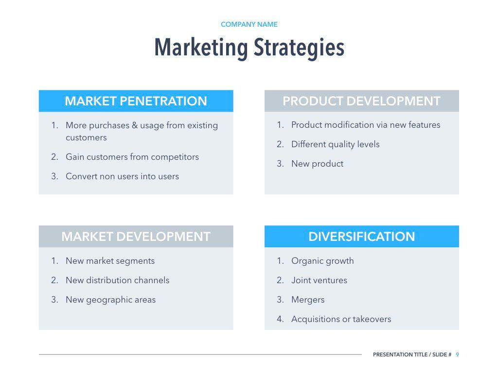Marketing Strategy PowerPoint Template, Slide 8, 04964, Presentation Templates — PoweredTemplate.com