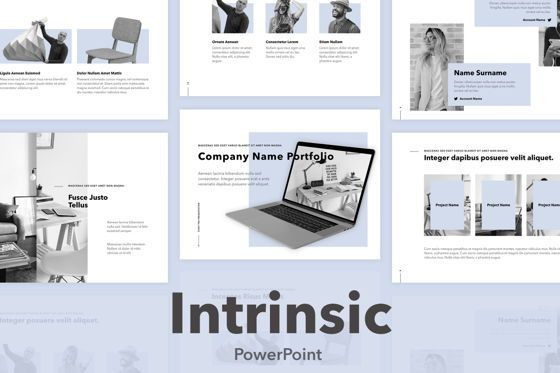 Presentation Templates: Intrinsic PowerPoint Template #04965