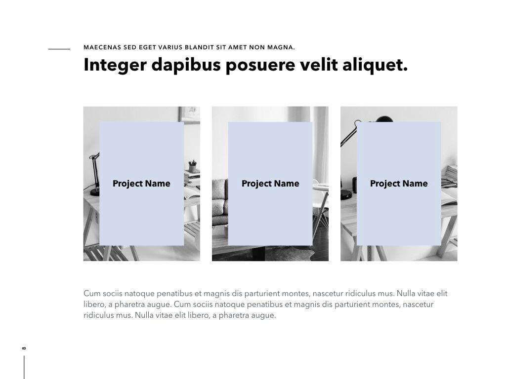 Intrinsic PowerPoint Template, Slide 9, 04965, Presentation Templates — PoweredTemplate.com
