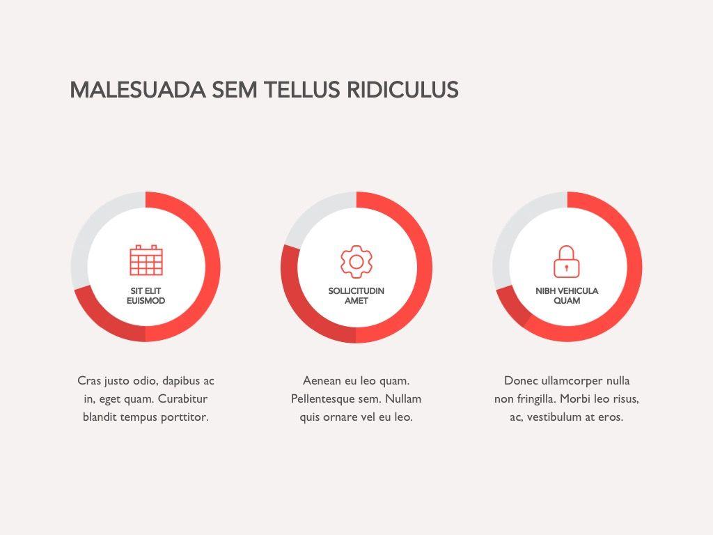 Red Line Google Slides, Slide 17, 04966, Presentation Templates — PoweredTemplate.com