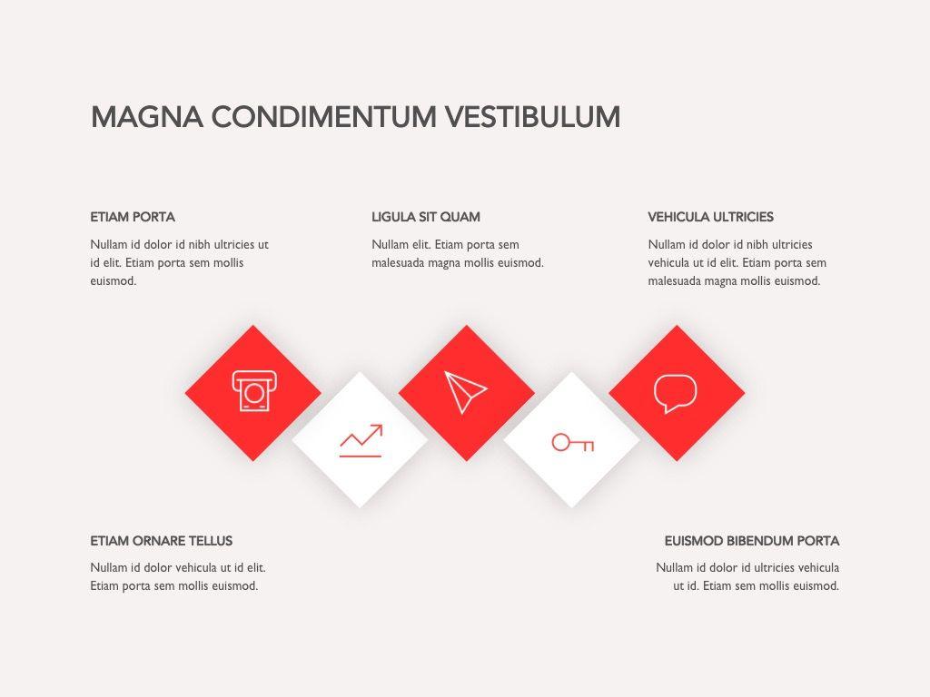 Red Line Google Slides, Slide 19, 04966, Presentation Templates — PoweredTemplate.com