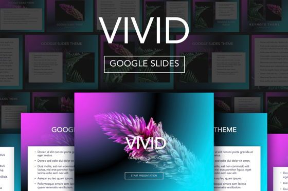 Presentation Templates: Vivid Google Slides Theme #04967