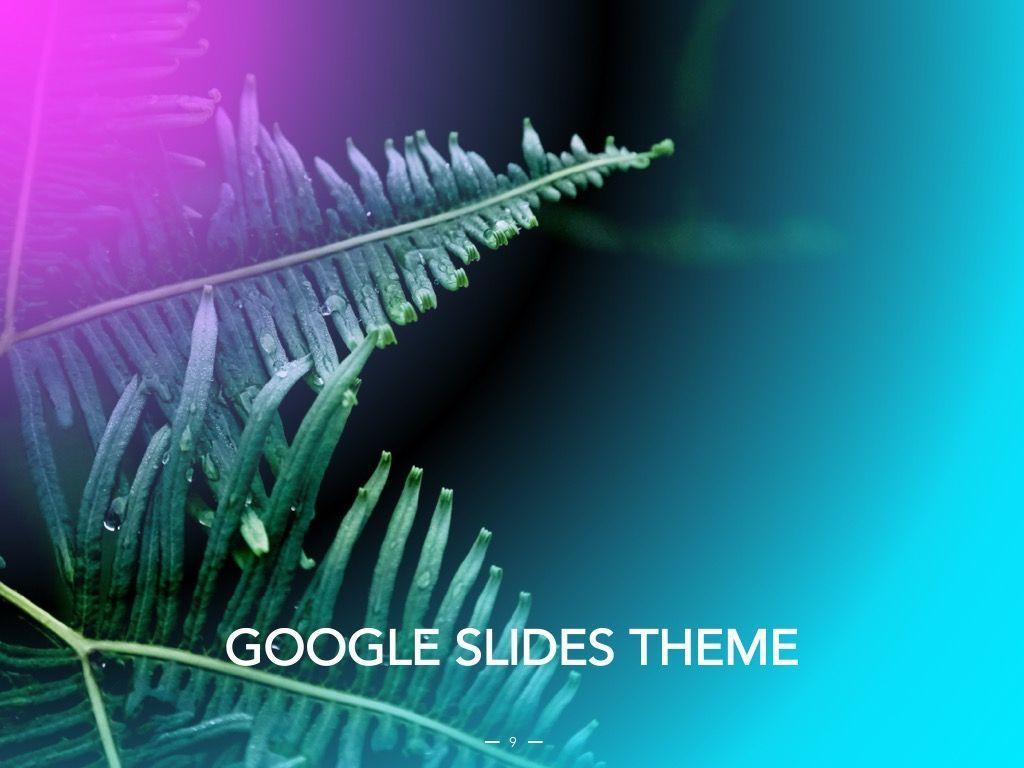 Vivid Google Slides Theme, Slide 10, 04967, Presentation Templates — PoweredTemplate.com