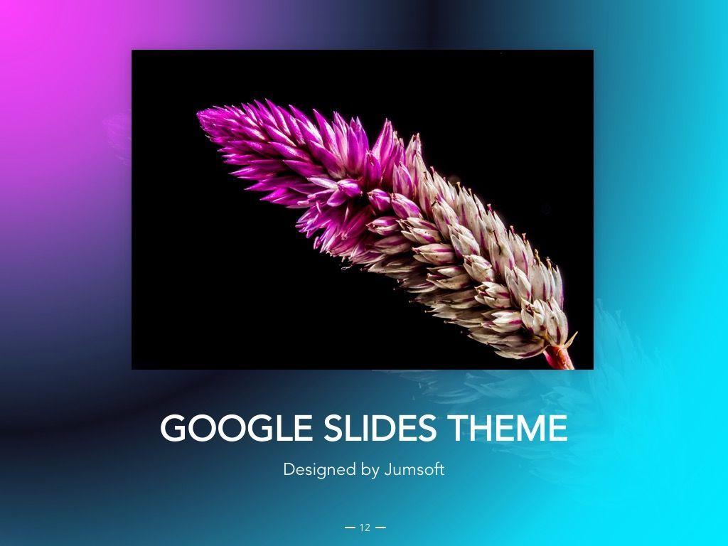 Vivid Google Slides Theme, Slide 13, 04967, Presentation Templates — PoweredTemplate.com