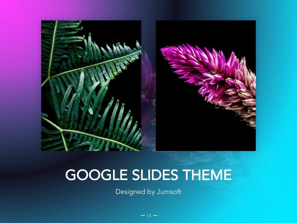Vivid Google Slides Theme, Slide 14, 04967, Presentation Templates — PoweredTemplate.com