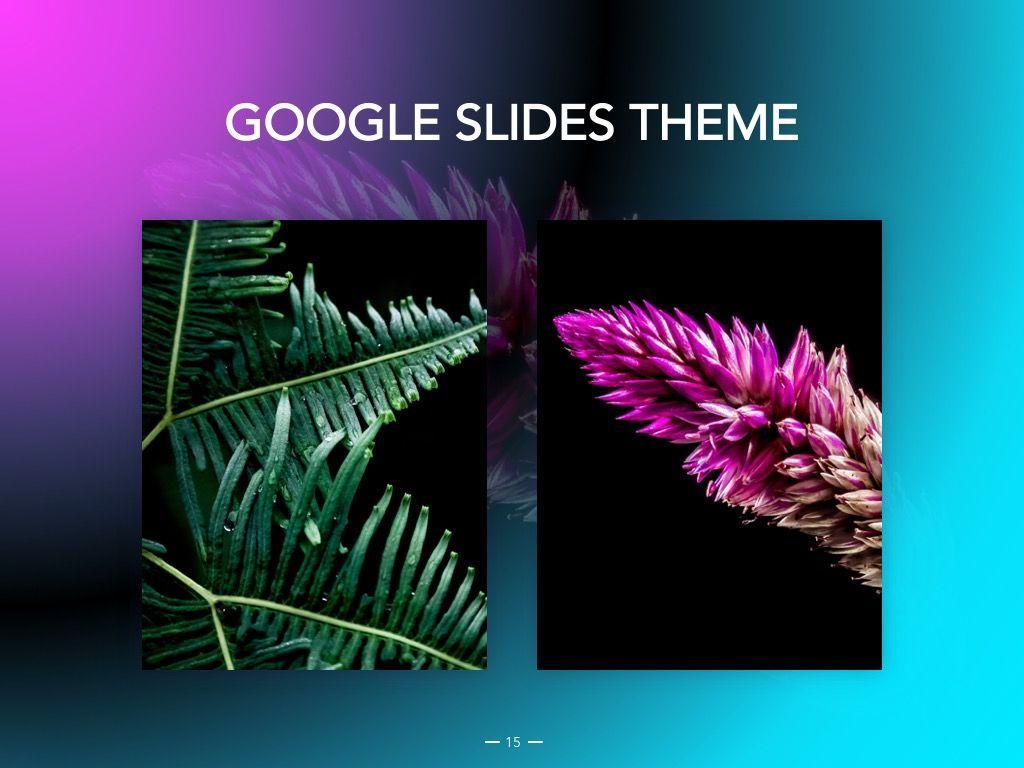 Vivid Google Slides Theme, Slide 16, 04967, Presentation Templates — PoweredTemplate.com