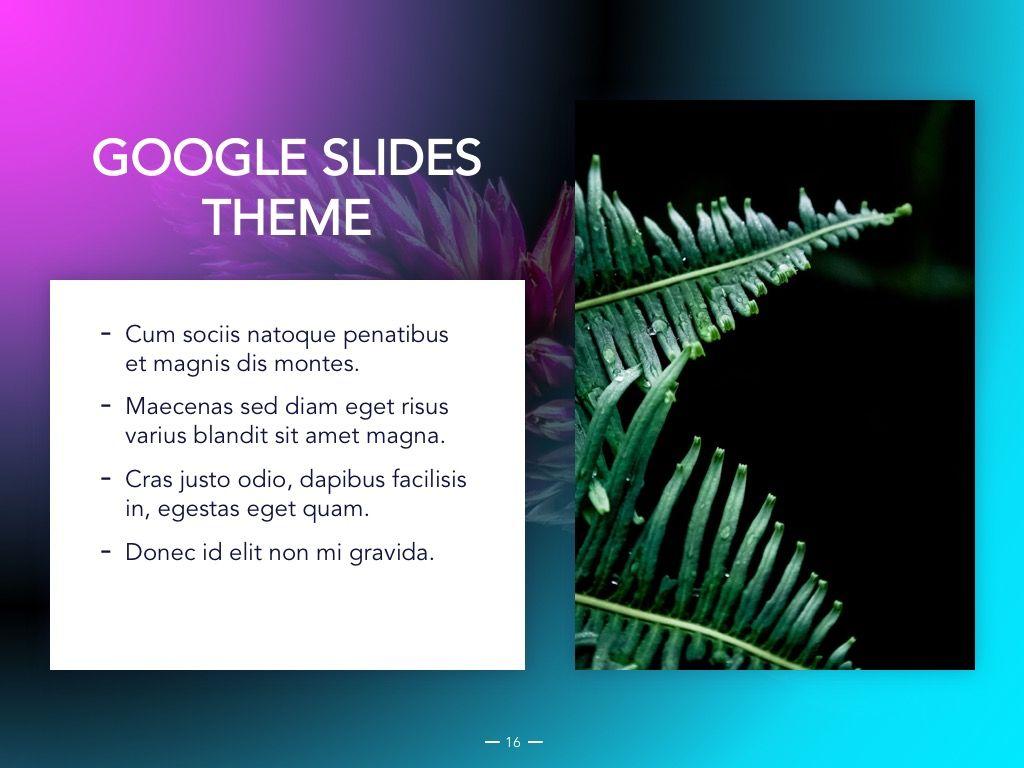 Vivid Google Slides Theme, Slide 17, 04967, Presentation Templates — PoweredTemplate.com