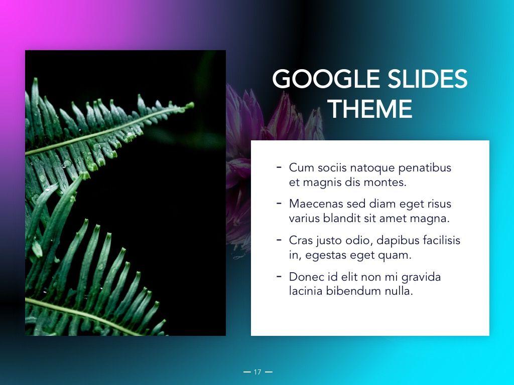 Vivid Google Slides Theme, Slide 18, 04967, Presentation Templates — PoweredTemplate.com