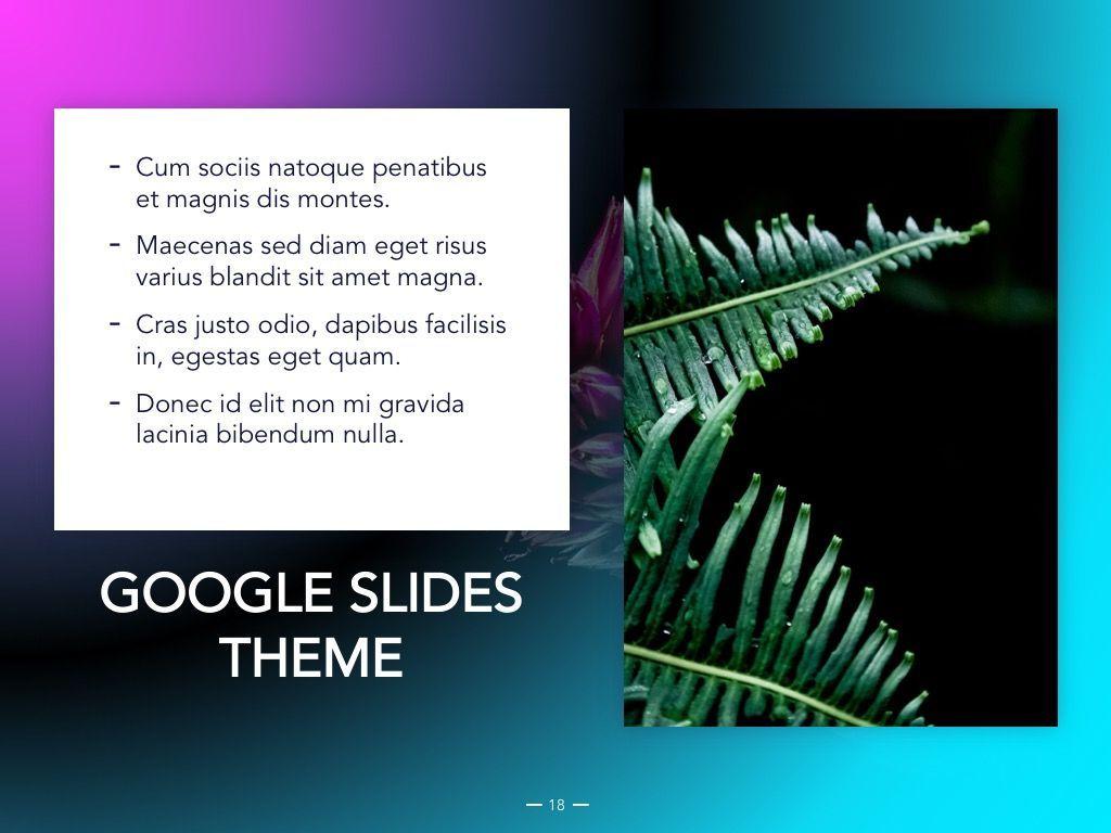 Vivid Google Slides Theme, Slide 19, 04967, Presentation Templates — PoweredTemplate.com
