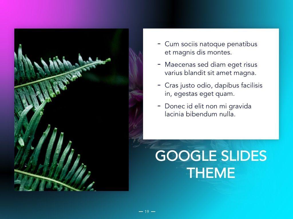 Vivid Google Slides Theme, Slide 20, 04967, Presentation Templates — PoweredTemplate.com