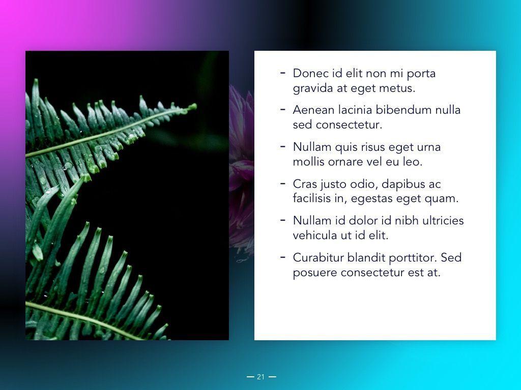 Vivid Google Slides Theme, Slide 22, 04967, Presentation Templates — PoweredTemplate.com