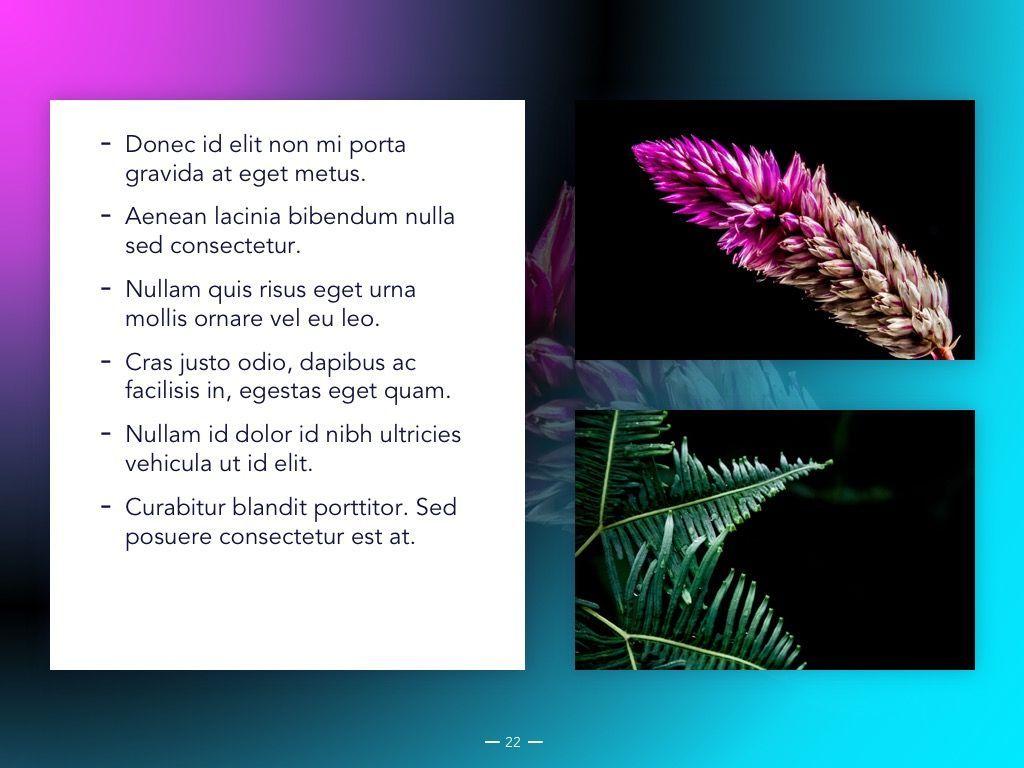 Vivid Google Slides Theme, Slide 23, 04967, Presentation Templates — PoweredTemplate.com