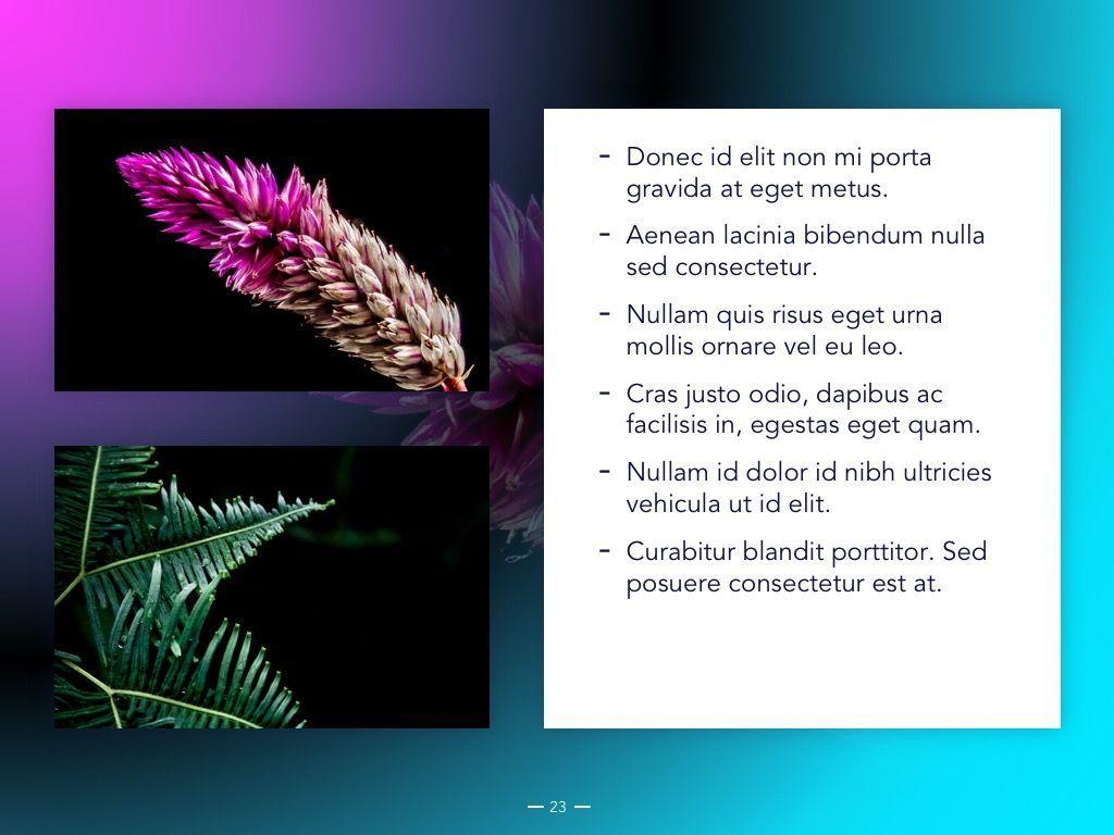 Vivid Google Slides Theme, Slide 24, 04967, Presentation Templates — PoweredTemplate.com
