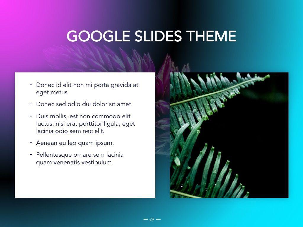 Vivid Google Slides Theme, Slide 30, 04967, Presentation Templates — PoweredTemplate.com