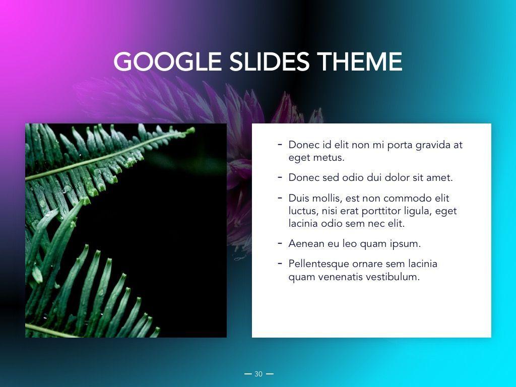 Vivid Google Slides Theme, Slide 31, 04967, Presentation Templates — PoweredTemplate.com