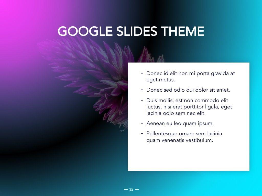 Vivid Google Slides Theme, Slide 33, 04967, Presentation Templates — PoweredTemplate.com