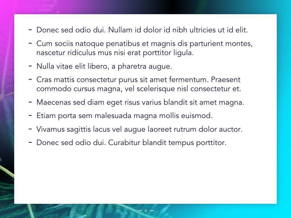 Vivid Google Slides Theme, Slide 5, 04967, Presentation Templates — PoweredTemplate.com