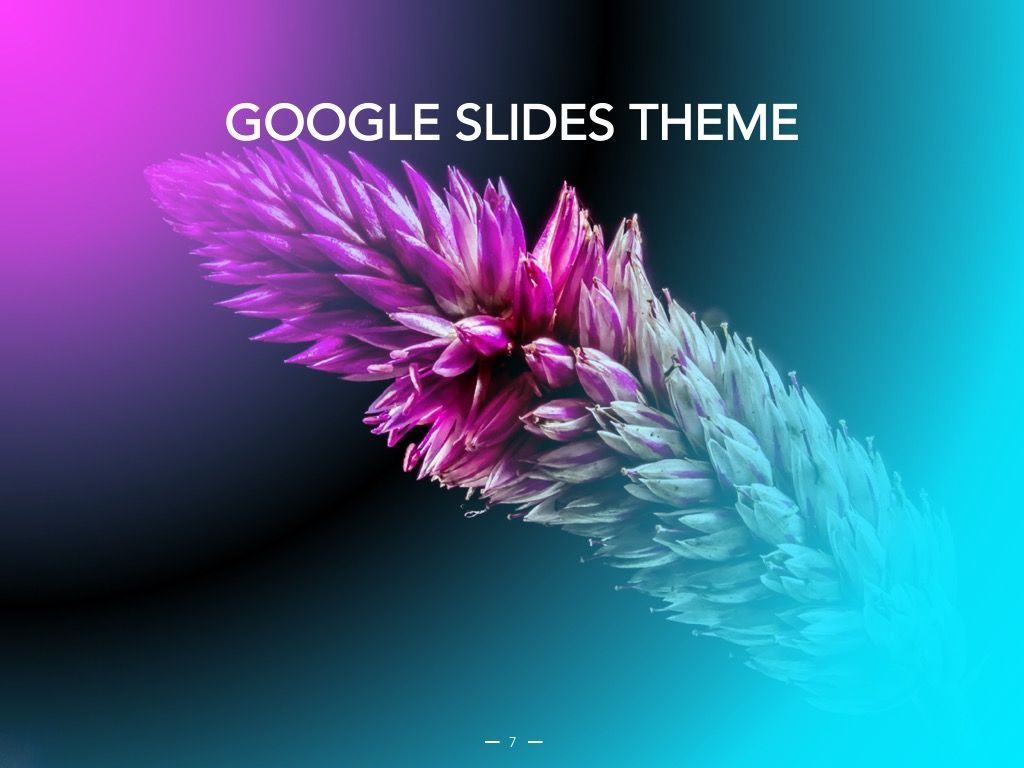 Vivid Google Slides Theme, Slide 8, 04967, Presentation Templates — PoweredTemplate.com