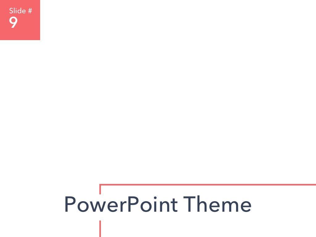 Living Coral PowerPoint Theme, Slide 10, 04969, Presentation Templates — PoweredTemplate.com