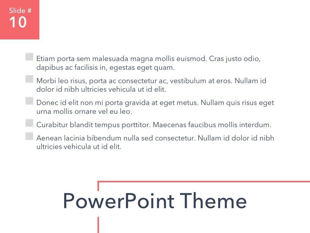 Living Coral PowerPoint Theme, Slide 11, 04969, Presentation Templates — PoweredTemplate.com