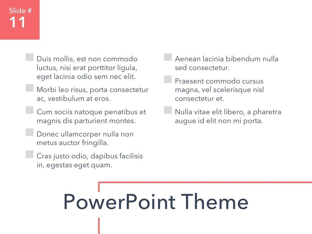 Living Coral PowerPoint Theme, Slide 12, 04969, Presentation Templates — PoweredTemplate.com