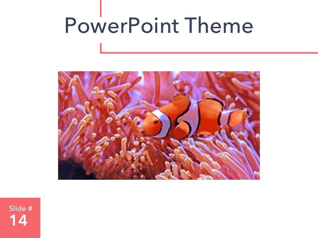 Living Coral PowerPoint Theme, Slide 15, 04969, Presentation Templates — PoweredTemplate.com