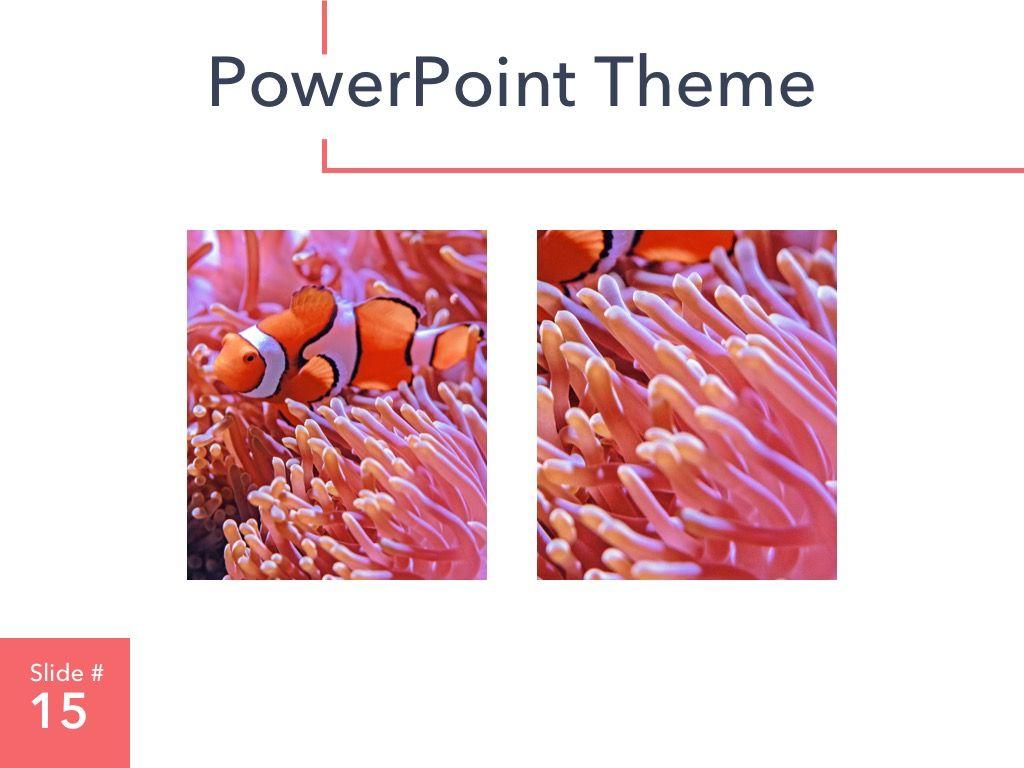 Living Coral PowerPoint Theme, Slide 16, 04969, Presentation Templates — PoweredTemplate.com