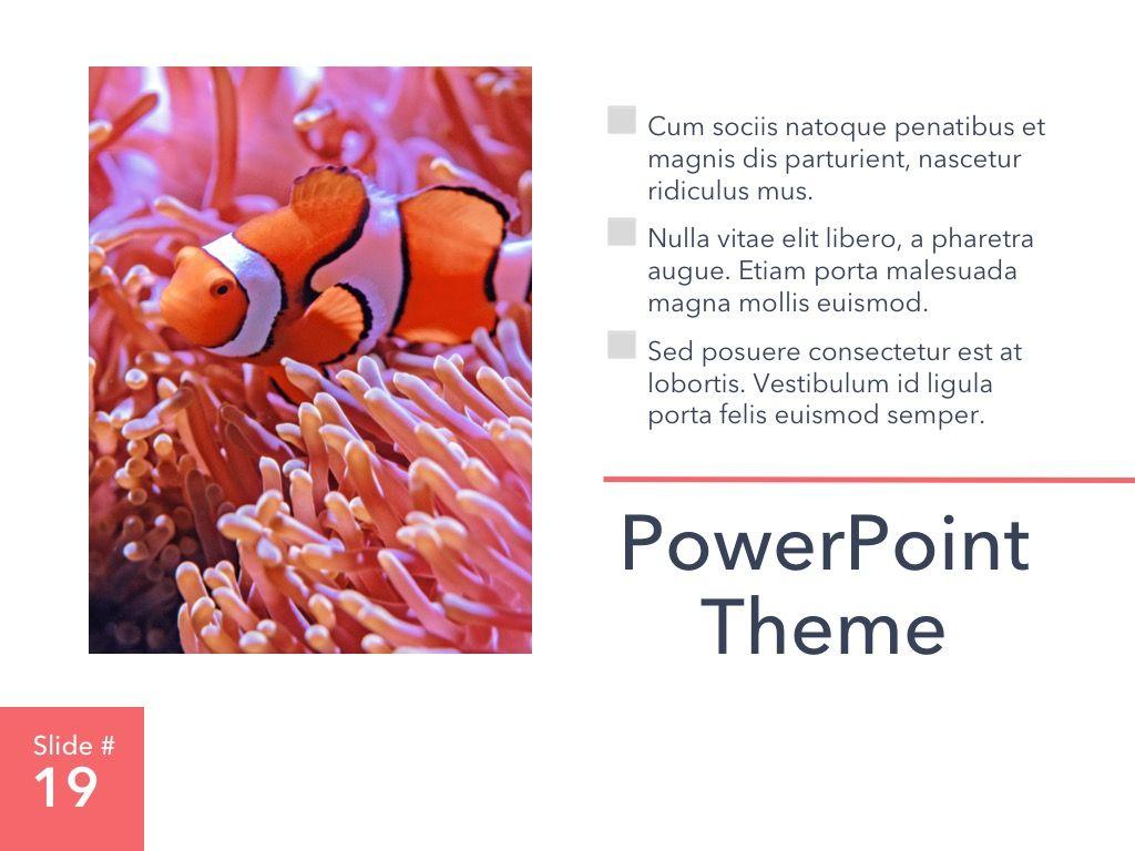 Living Coral PowerPoint Theme, Slide 20, 04969, Presentation Templates — PoweredTemplate.com