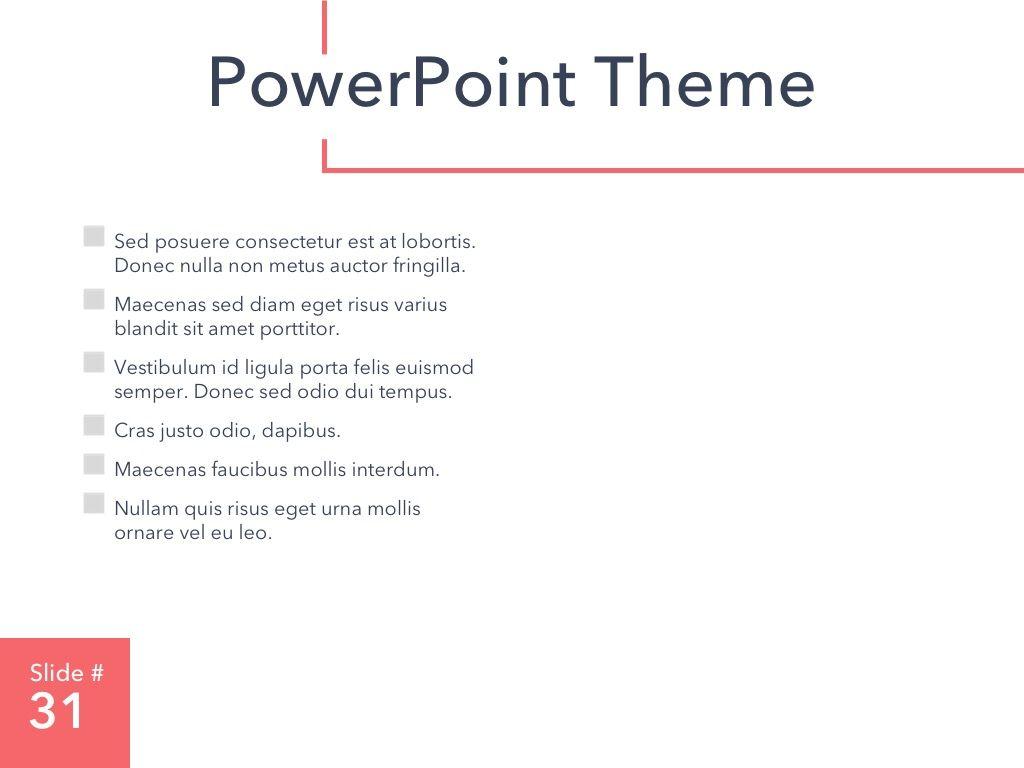 Living Coral PowerPoint Theme, Slide 32, 04969, Presentation Templates — PoweredTemplate.com