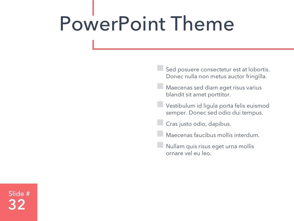 Living Coral PowerPoint Theme, Slide 33, 04969, Presentation Templates — PoweredTemplate.com