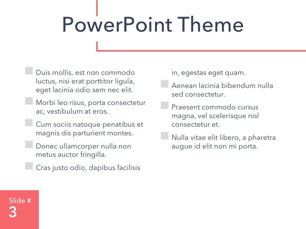 Living Coral PowerPoint Theme, Slide 4, 04969, Presentation Templates — PoweredTemplate.com