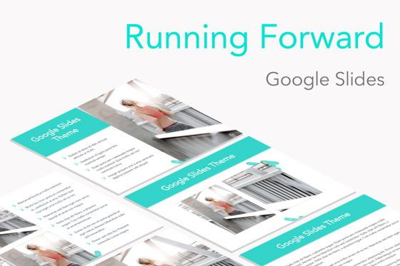 Presentation Templates: Running Forward Google Slides #04970