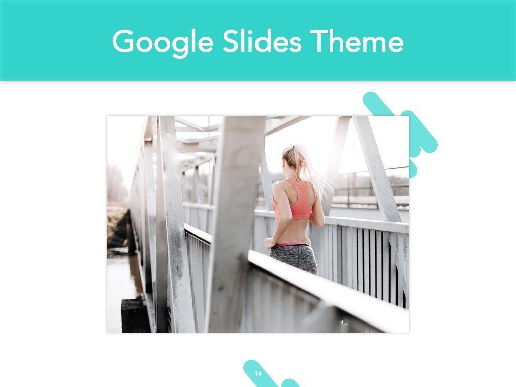 Running Forward Google Slides, Slide 15, 04970, Presentation Templates — PoweredTemplate.com