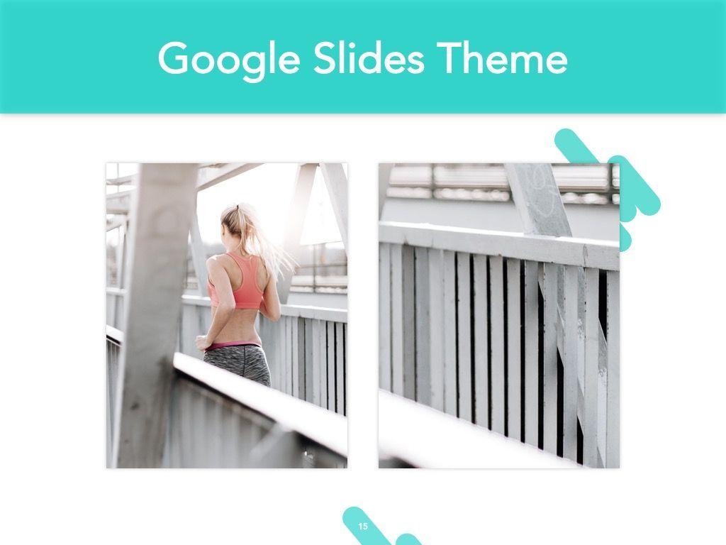 Running Forward Google Slides, Slide 16, 04970, Presentation Templates — PoweredTemplate.com