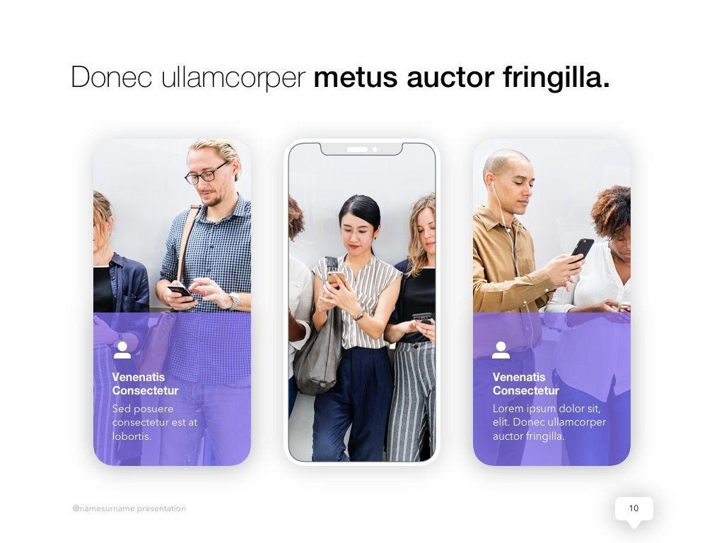 Influencer Marketing PowerPoint Template, Slide 11, 04971, Presentation Templates — PoweredTemplate.com