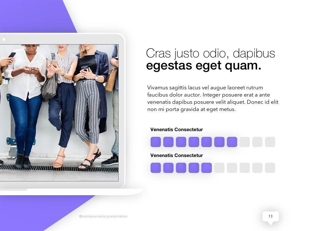 Influencer Marketing PowerPoint Template, Slide 14, 04971, Presentation Templates — PoweredTemplate.com