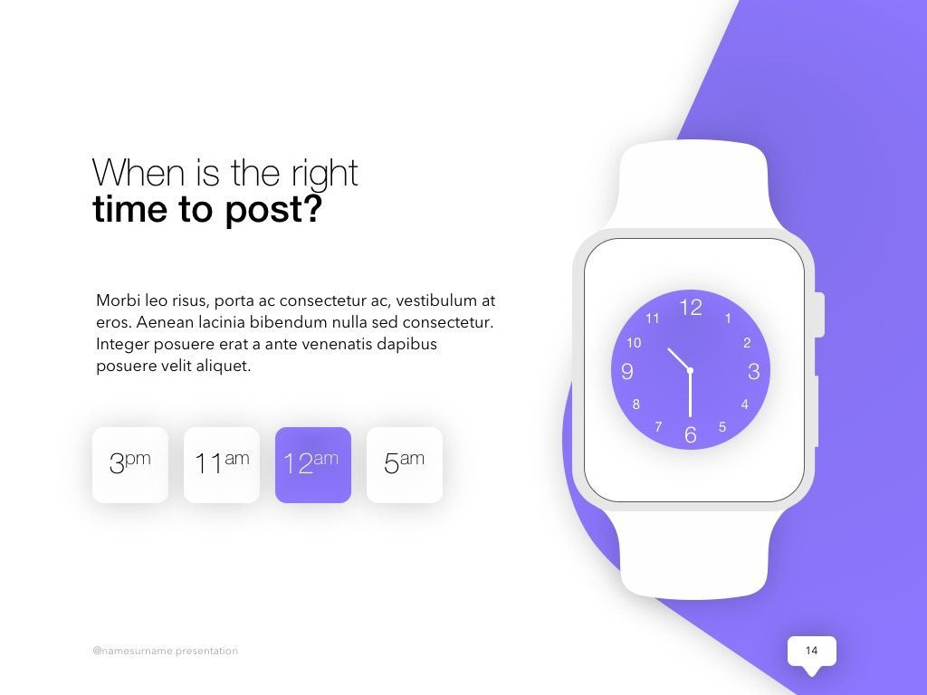 Influencer Marketing PowerPoint Template, Slide 15, 04971, Presentation Templates — PoweredTemplate.com