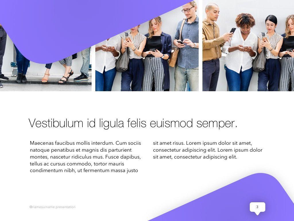Influencer Marketing PowerPoint Template, Slide 4, 04971, Presentation Templates — PoweredTemplate.com