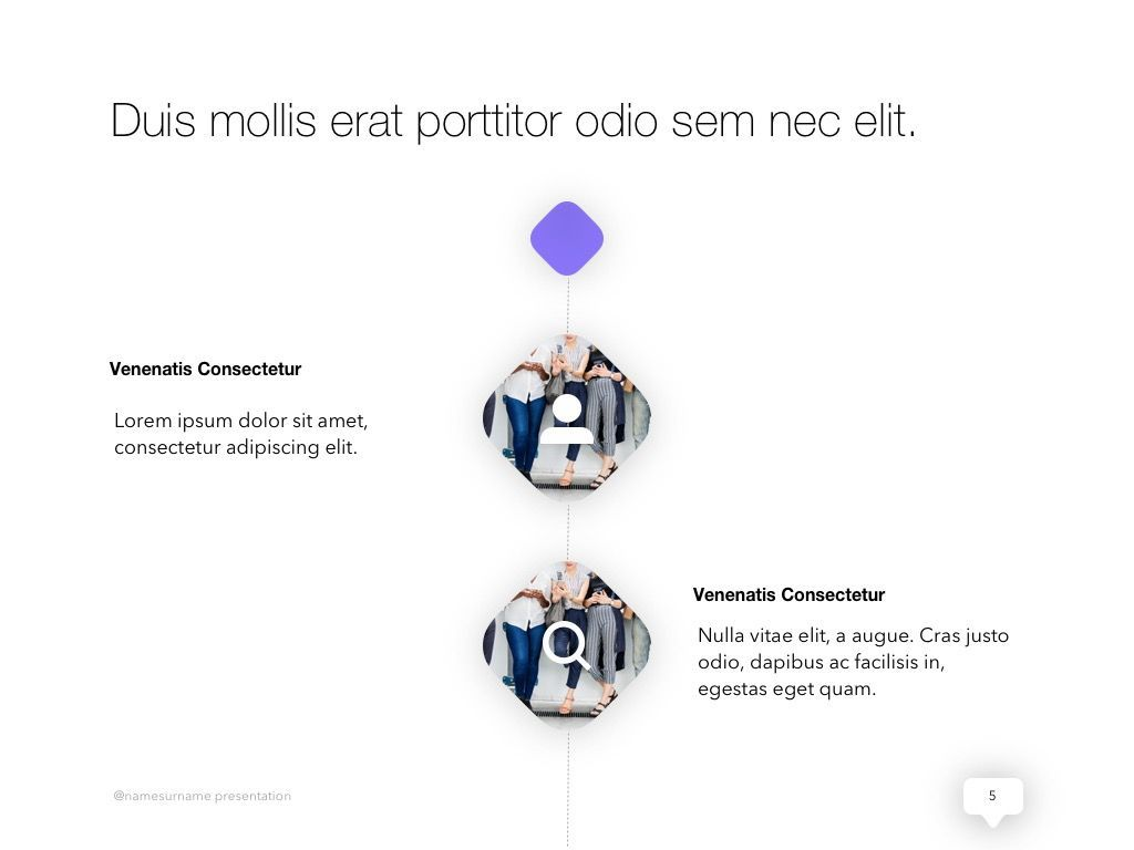 Influencer Marketing PowerPoint Template, Slide 6, 04971, Presentation Templates — PoweredTemplate.com