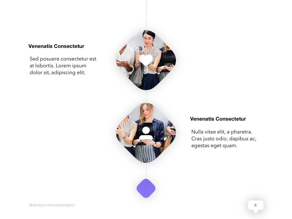 Influencer Marketing PowerPoint Template, Slide 7, 04971, Presentation Templates — PoweredTemplate.com