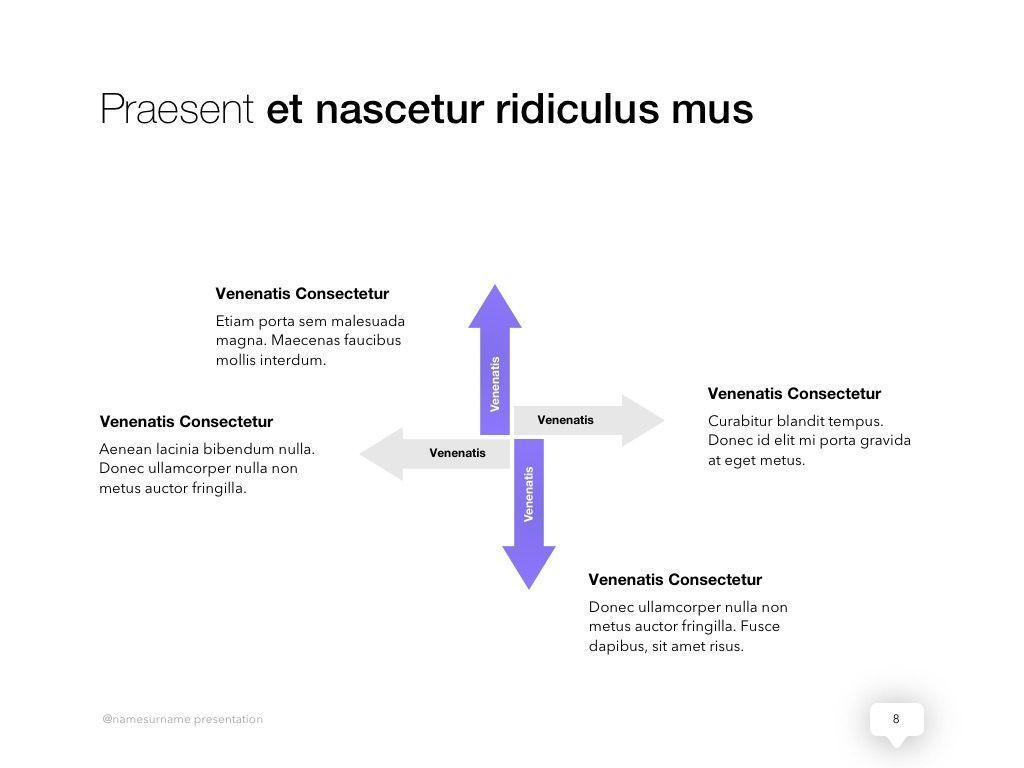 Influencer Marketing PowerPoint Template, Slide 9, 04971, Presentation Templates — PoweredTemplate.com