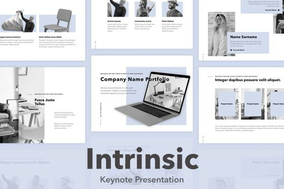 Presentation Templates: Intrinsic Keynote Template #04972