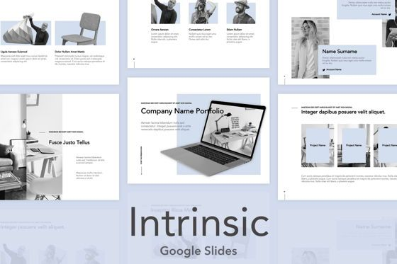 Presentation Templates: Intrinsic Google Slides Theme #04973