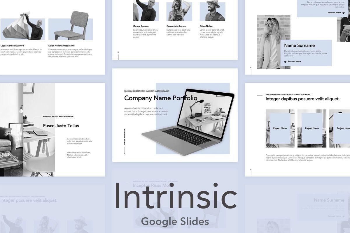 Intrinsic Google Slides Theme, 04973, Presentation Templates — PoweredTemplate.com