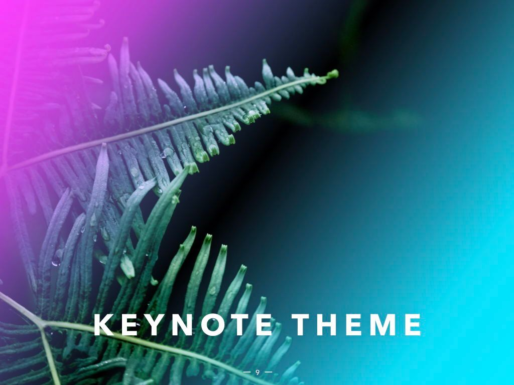 Vivid Keynote Presentation Theme, Slide 10, 04974, Presentation Templates — PoweredTemplate.com