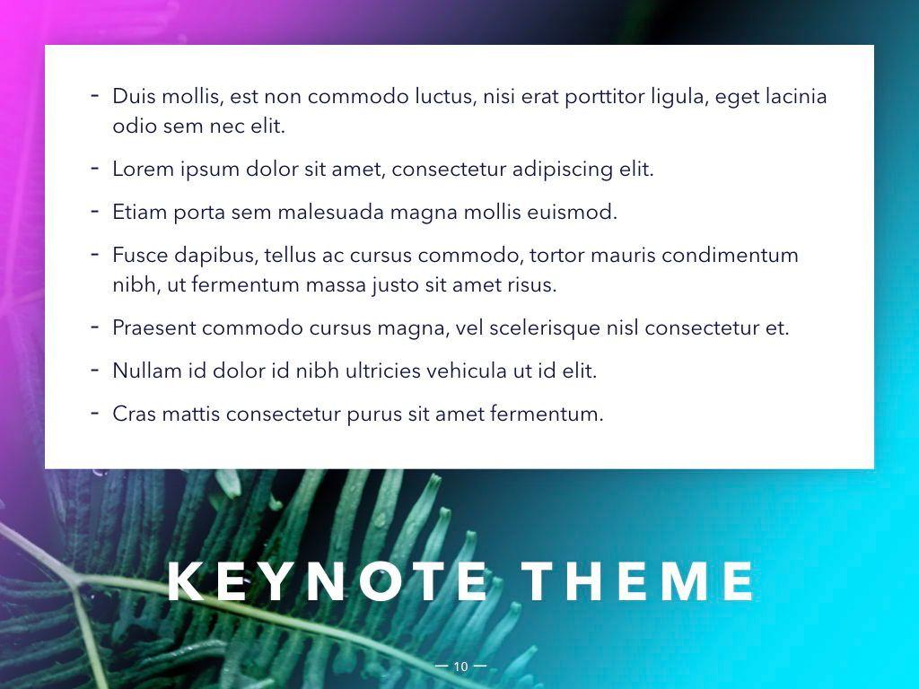 Vivid Keynote Presentation Theme, Slide 11, 04974, Presentation Templates — PoweredTemplate.com