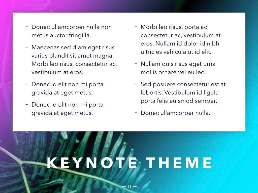 Vivid Keynote Presentation Theme, Slide 12, 04974, Presentation Templates — PoweredTemplate.com