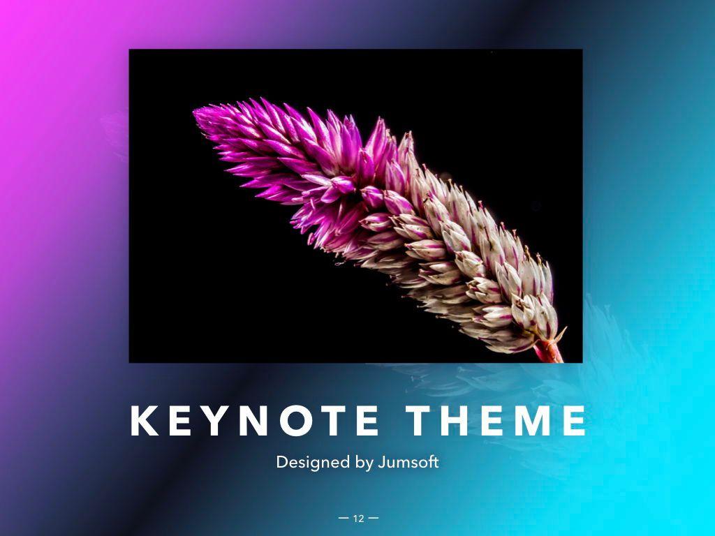 Vivid Keynote Presentation Theme, Slide 13, 04974, Presentation Templates — PoweredTemplate.com