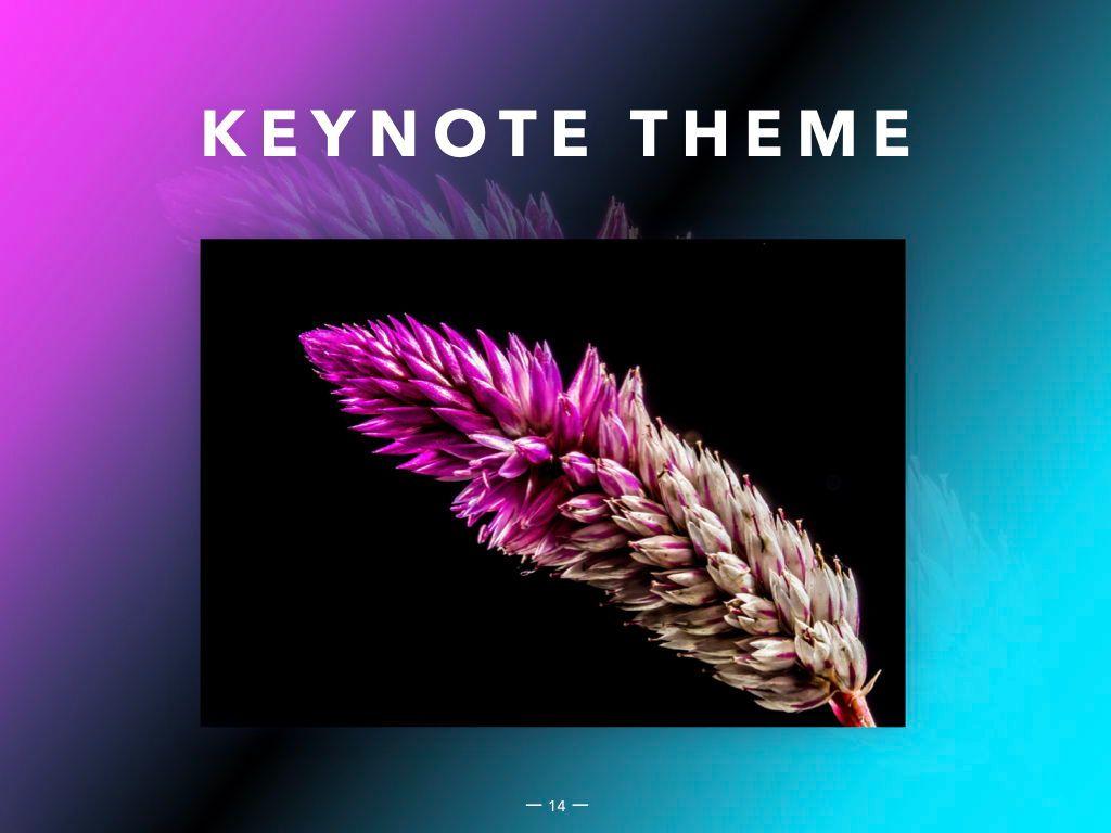 Vivid Keynote Presentation Theme, Slide 15, 04974, Presentation Templates — PoweredTemplate.com